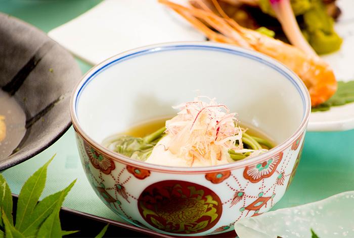 綾部 ゆう月 夏 夏休み お盆 会席料理 お祝い 茶そば