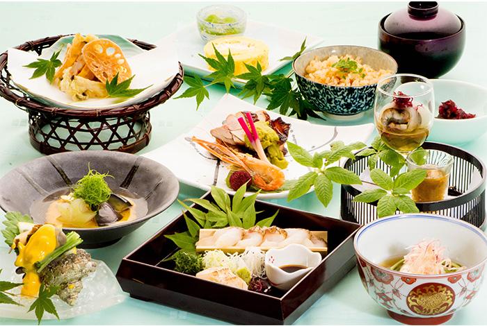 綾部 ゆう月 夏 夏休み お盆 会席料理 お祝い