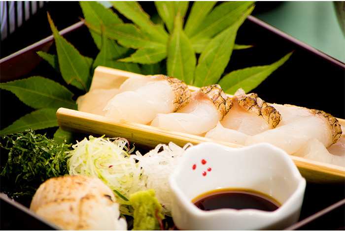 綾部 ゆう月 夏 夏休み お盆 会席料理 お祝い 鯛 熟成 すし