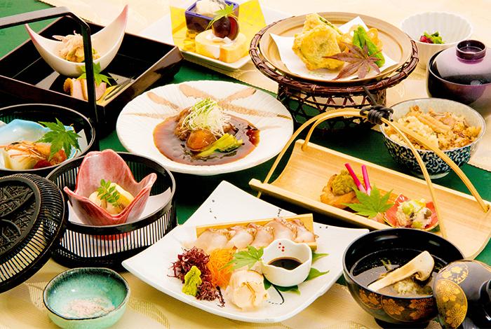 京都 綾部の料亭 ゆう月 9月 会席料理 会席料理