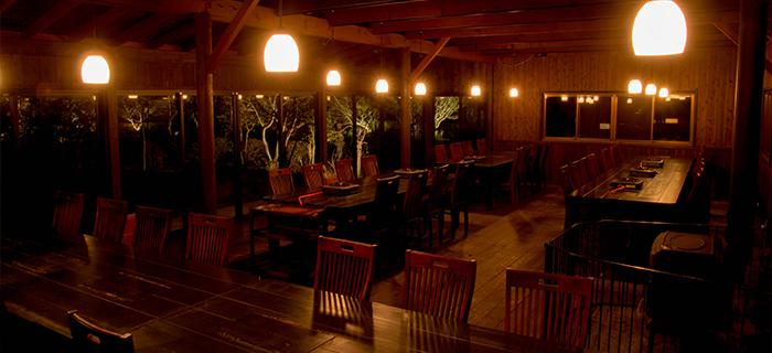 綾部の料亭 ゆう月 別館 テーブル席