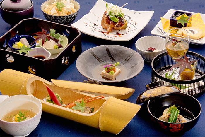 綾部の料亭 ゆう月 夏の会席料理