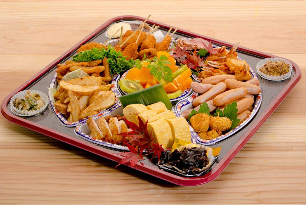 綾部の料亭 ゆう月 オードブル 寿司 4000円