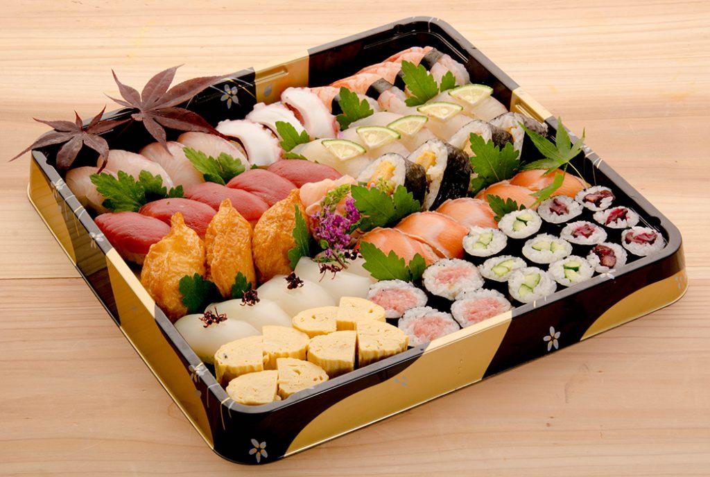 綾部の料亭 ゆう月 オードブル 寿司 7000円