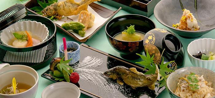 綾部の料亭 ゆう月 法事の会席料理