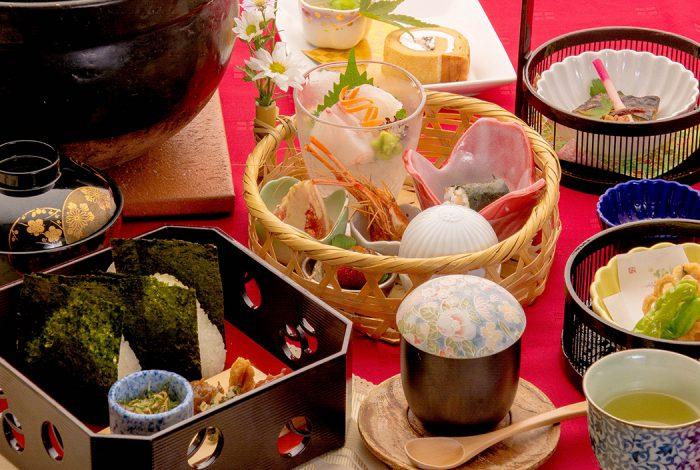 綾部の料亭 ゆう月 海の京都 綾部むすび おむすびかいせき 会席料理