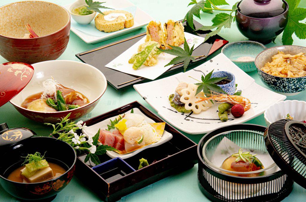 綾部の和食の店 ゆう月 夏 お盆の会席料理