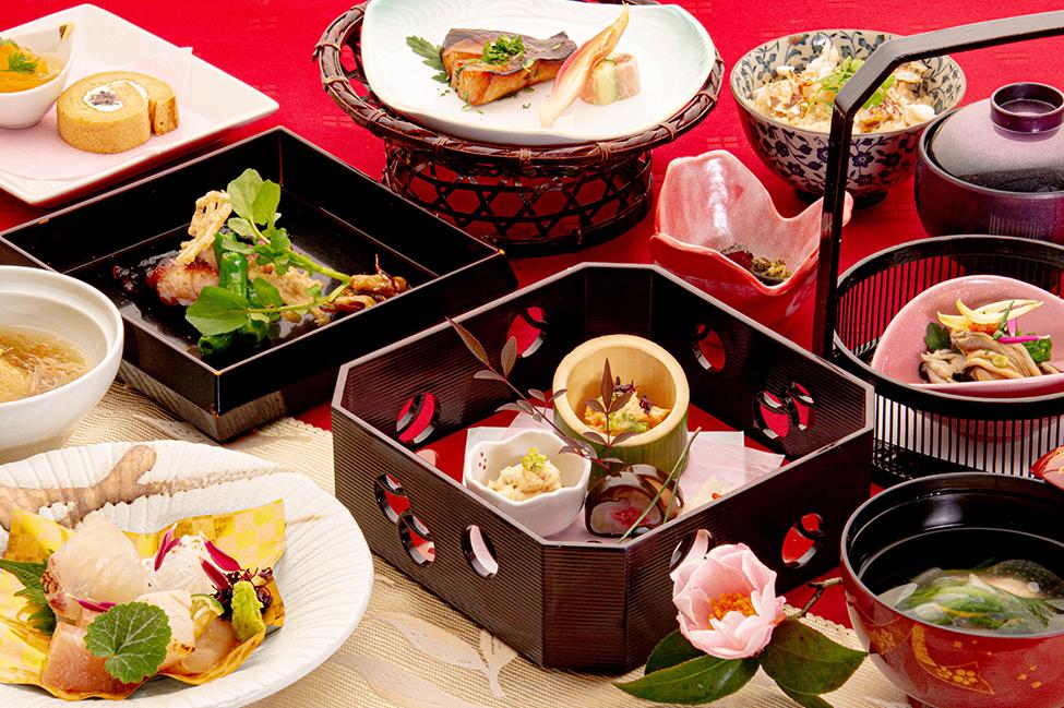 和食の店 ゆう月 冬の会席料理 全体写真