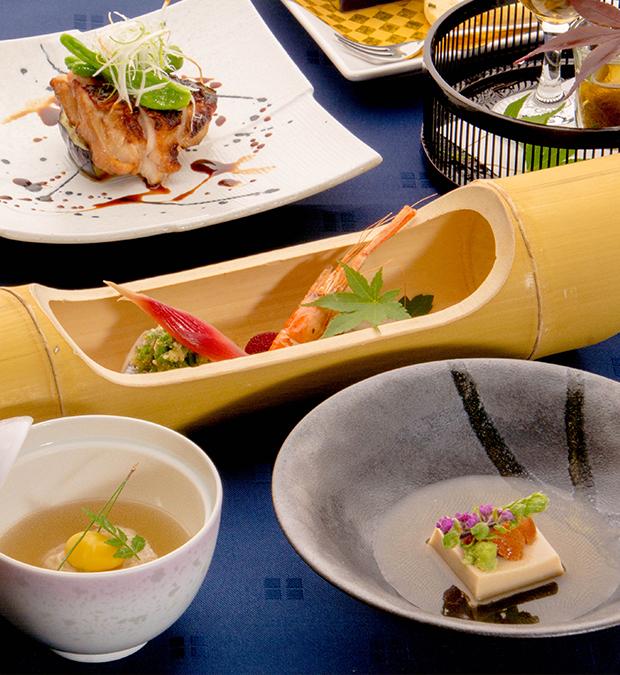 綾部の料亭 ゆう月 5月の会席料理 GW