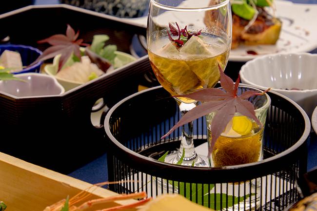 綾部の料亭 ゆう月 6月の会席料理 酢物 鰻の蒲焼き うざく