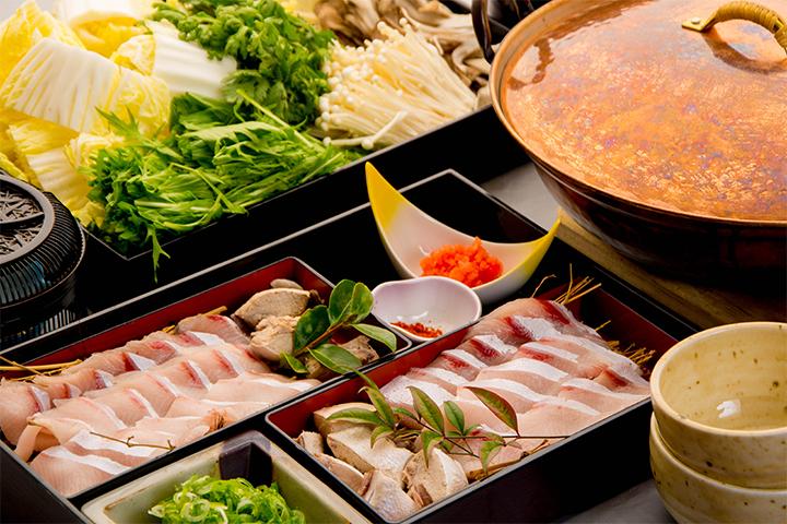 綾部の料亭 ゆう月 鍋料理 鰤のしゃぶしゃぶ鍋画像