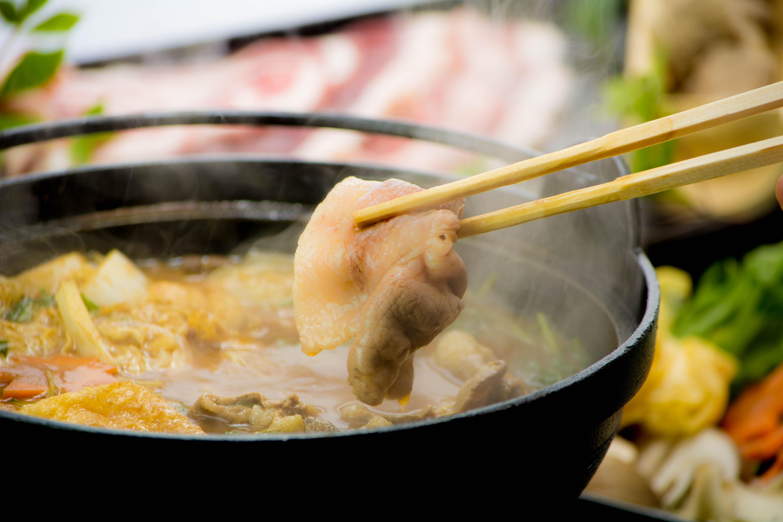 綾部の料亭 ゆう月 冬の鍋料理 森の京都 全国ジビエフェア 丹波産 ぼたん鍋