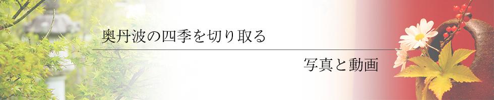 綾部の料亭 ゆう月 ギャラリーページのタイトル