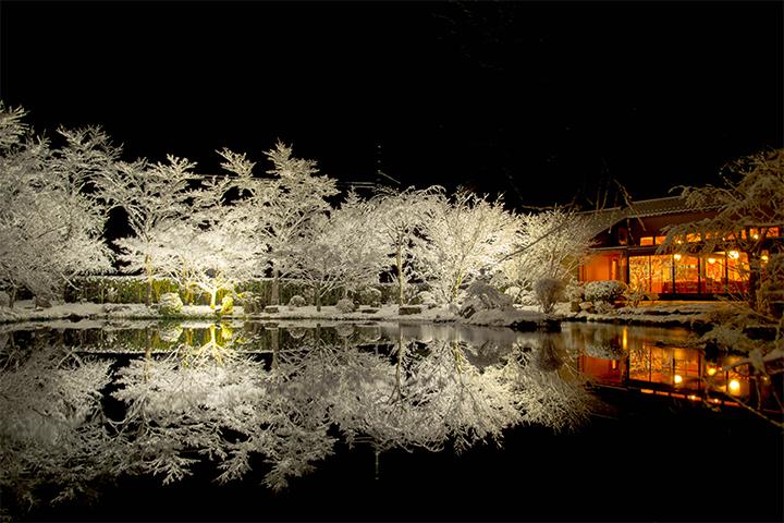 綾部の料亭 ゆう月 ギャラリページ冬のサムネイル
