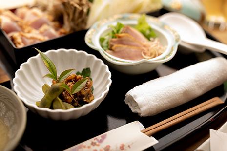 綾部の和食レストラン ゆう月のコロナ対策のための1人鍋プラン