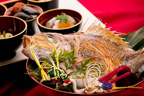 綾部の料亭 ゆう月 お祝い 慶事ページの画像