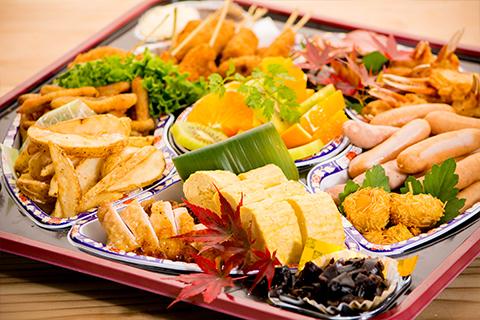 綾部のゆう月 オードブル お寿司 お通夜 精進あげ お祭り