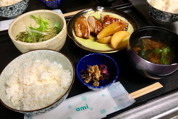 綾部の料亭 ゆう月のプレスリリース 子どもの昼食