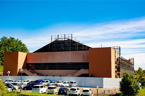 綾部 ゆう月周辺の観光施設 三段池公園 スポーツ施設 体育館 科学館