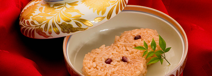 京都 綾部 和食 ゆう月 お祝い お宮参り お食い初め 赤飯