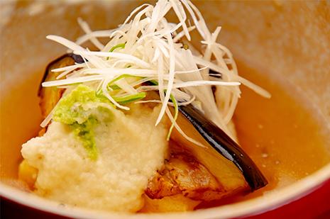 綾部のレストラン ゆう月 会席料理 法事 初盆 京野菜 賀茂茄子 湯葉