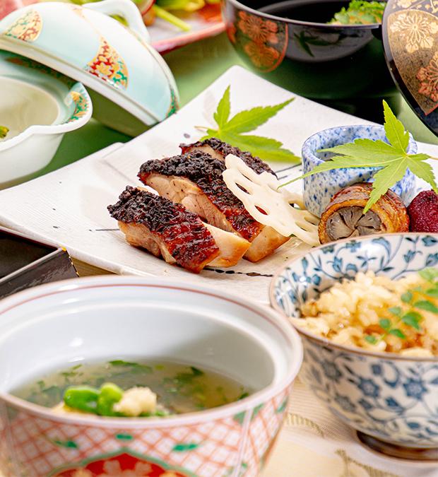 綾部の和食レストランゆう月 5月 6月 会席料理