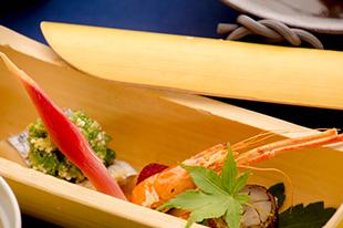 綾部の料亭 ゆう月 5月の会席料理 鰆の塩焼き 八幡巻き 夏の焼き物