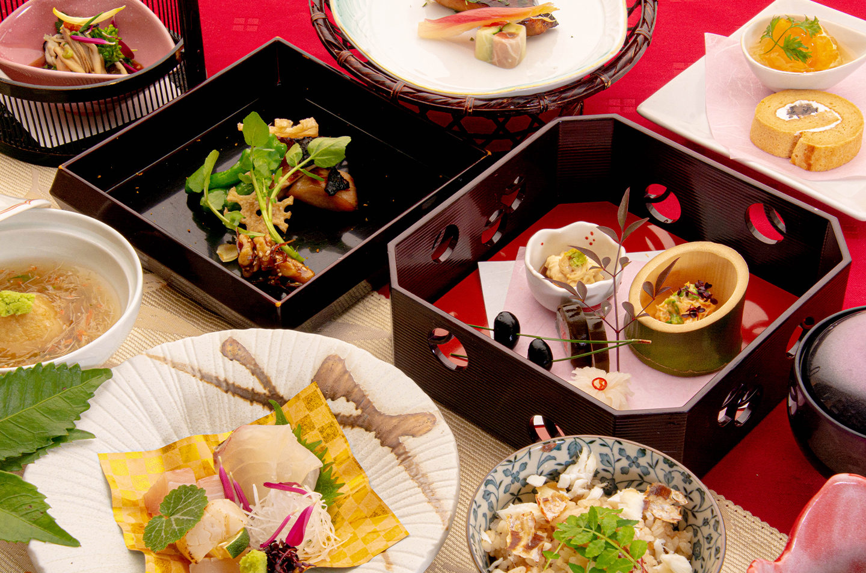 綾部の和食レストラン ゆう月の冬の会席料理 懐石料理