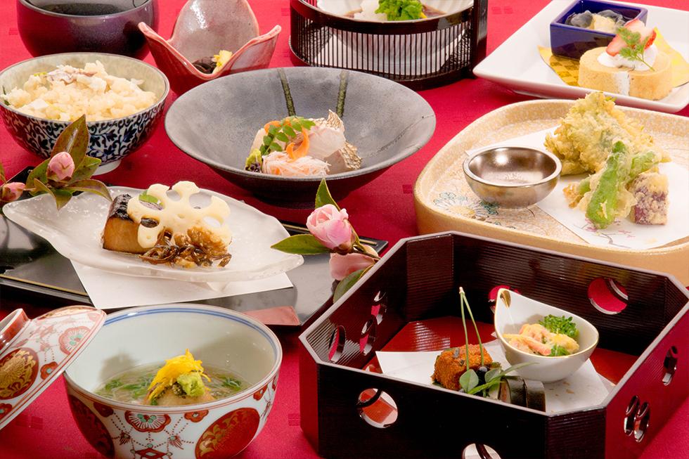 水仙会席 冬の会席料理 1月 2月