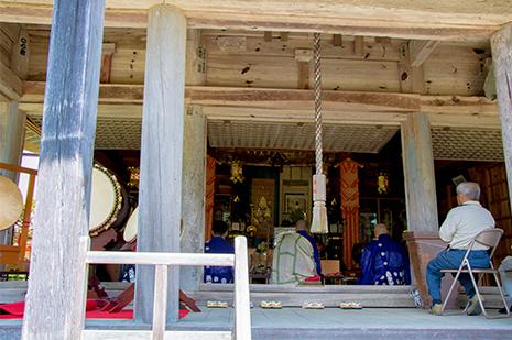綾部 ゆう月の周辺 観光施設 寺院 岩王寺 かやぶきの山寺