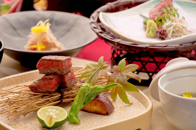 綾部の料亭 ゆう月 京都 丹波牛会席 牛肉料理
