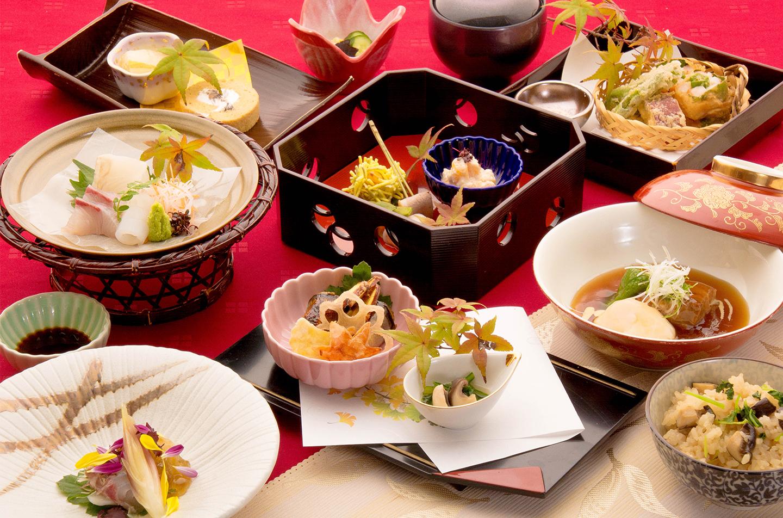 綾部の料亭 ゆう月 秋の会席料理