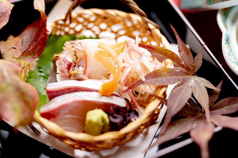 綾部市の和食レストラン ゆう月の秋の会席料理