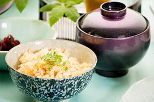 京都 綾部 和食 ゆう月 会席料理 懐石料理 法事 お祝い 祭り ご飯 炊き込み御飯