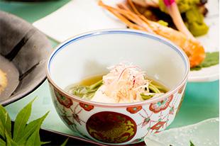 京都 綾部 和食 ゆう月 会席料理 懐石料理 法事 お祝い 祭り 茶そば 湯葉